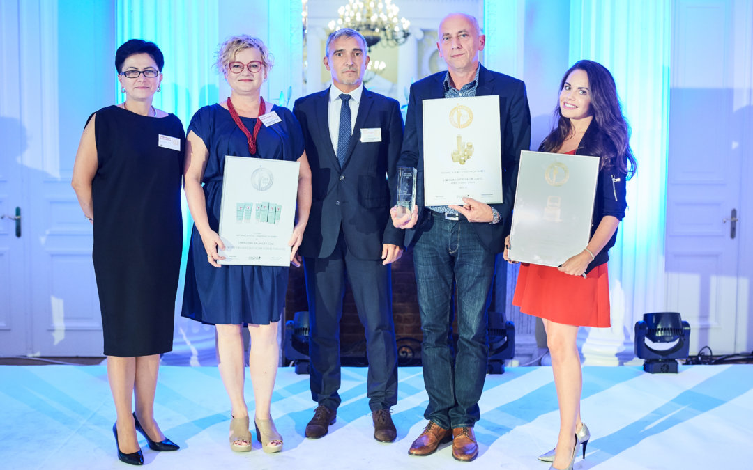 AWARD IN THE PEARL OF THE COSMETIC MARKET 2018